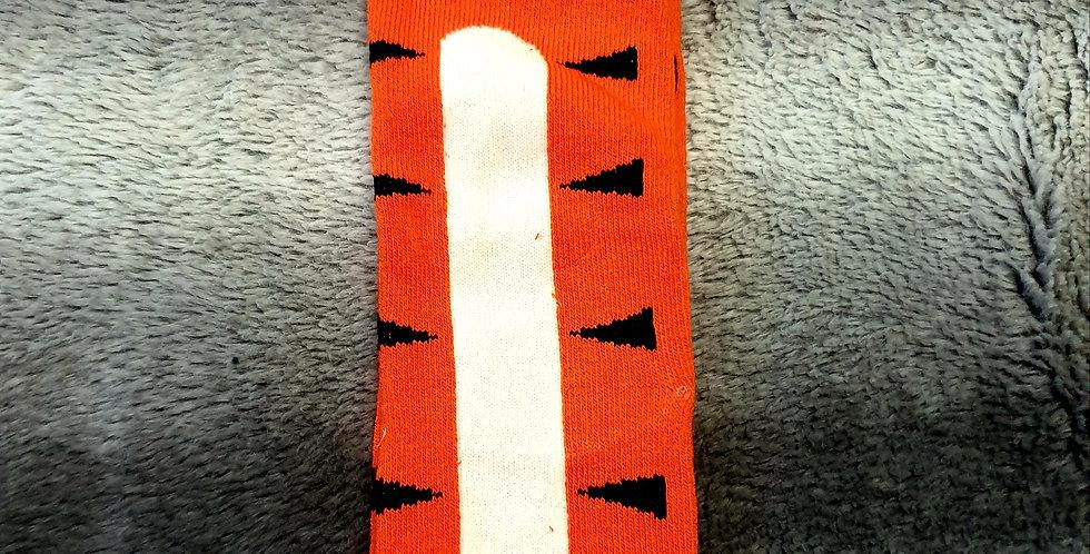 Orange Cat Socks
