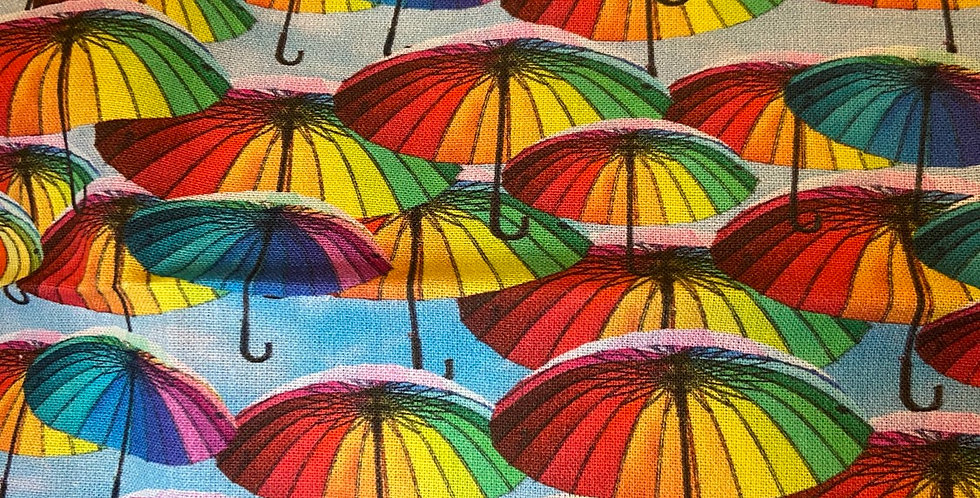 Rainbow umbrellas Bar Cover