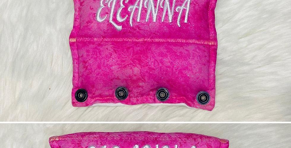 Pink Glitter Bar Cover