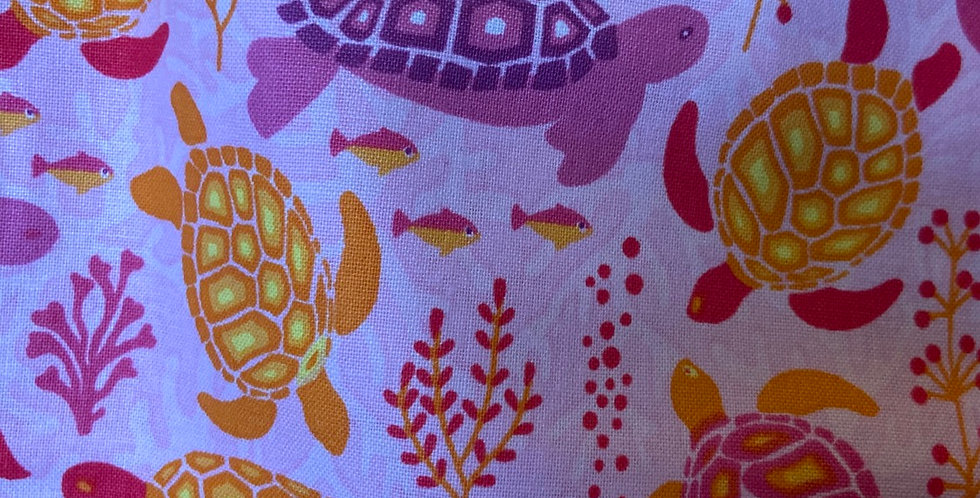 Sea Turtle on Pink Bar Cover