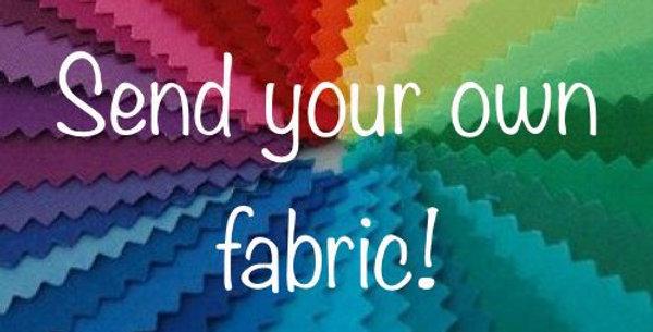 Send me your own fabric (cotton) Bar Cover - please read description