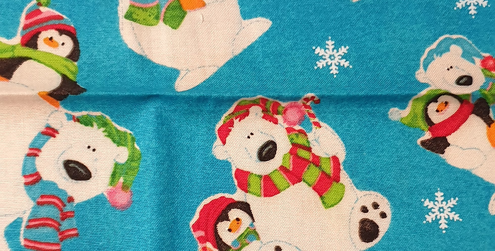 Xmas Polar Bears Bar Cover