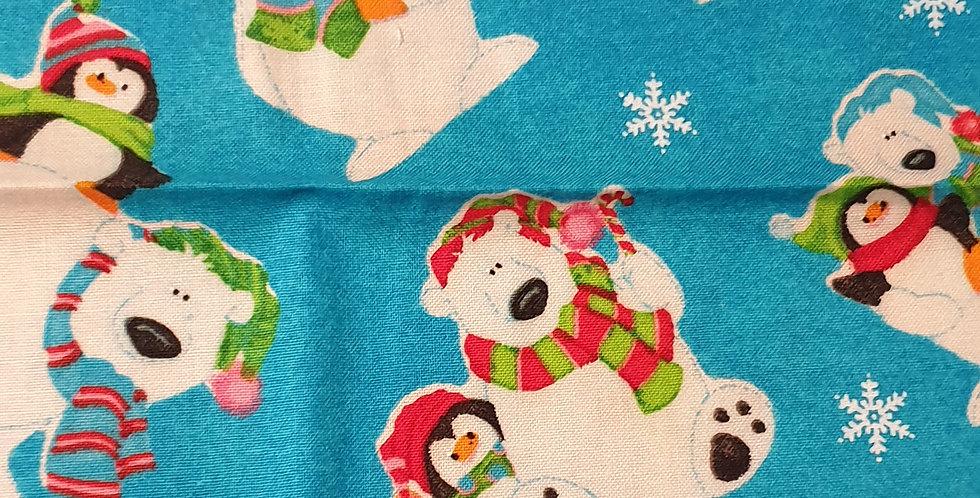 Xmas Polar Bears Bar Cover