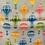 Thumbnail: Hot Air Balloon on light blue Bar Cover