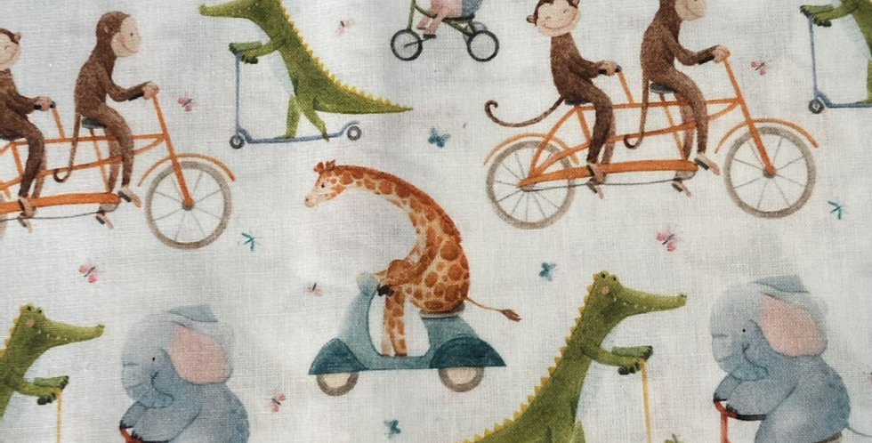 Animals on Wheels Bar Cover