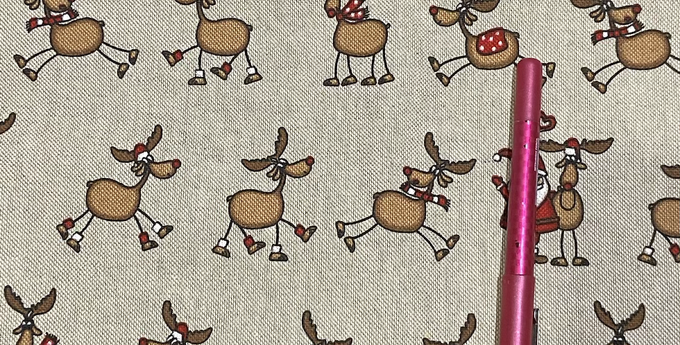 Reindeers on Canvas Bar Cover