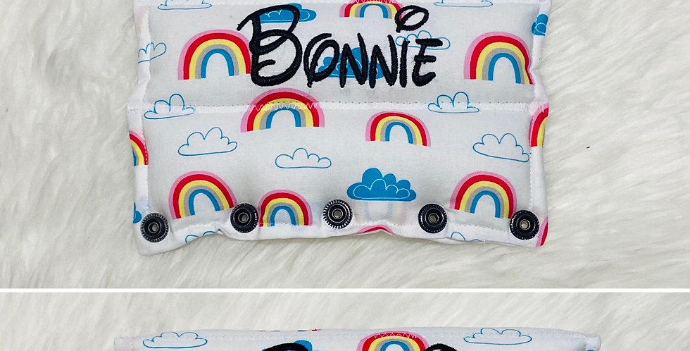 Rainbow clouds Bar Cover