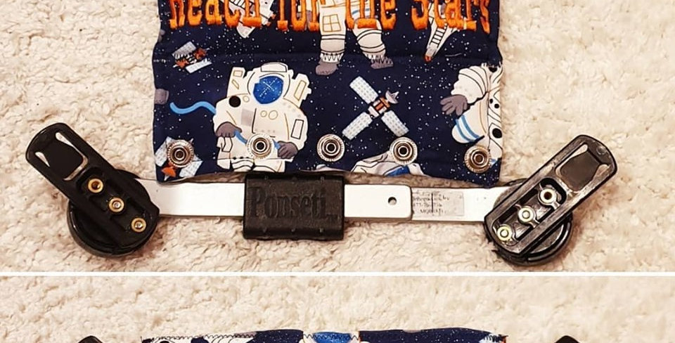 Astronauts Blue Bar Cover