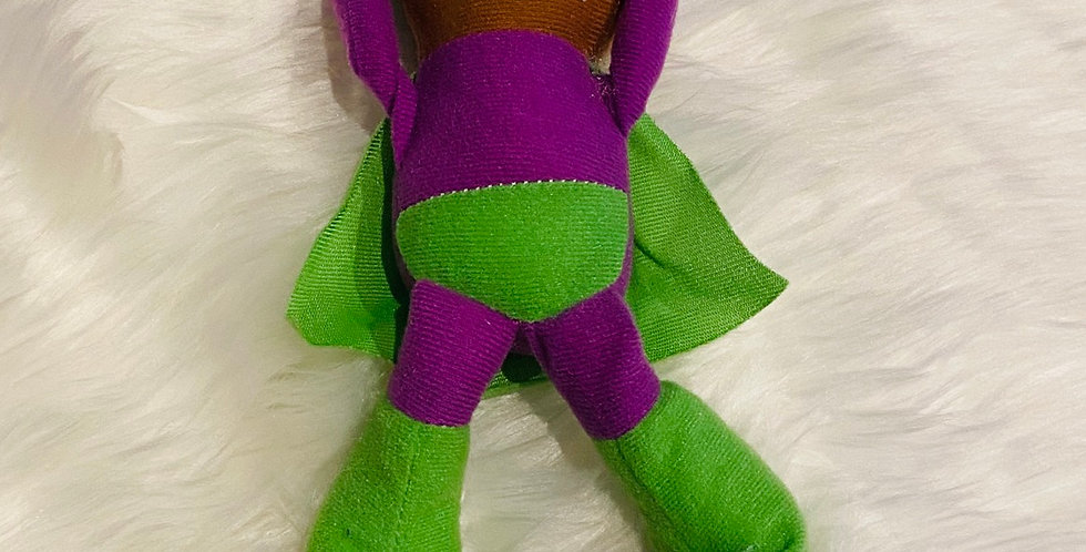 Plush Superhero - Dino cover