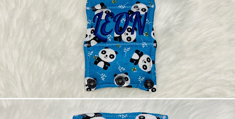 Pandas and Bees Bar Cover