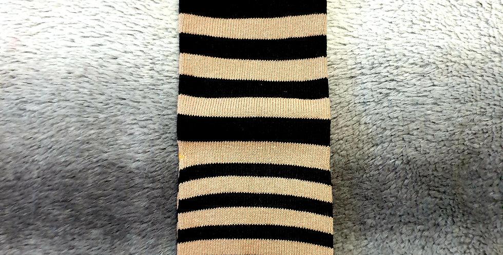 Stripey Smiley Face Socks