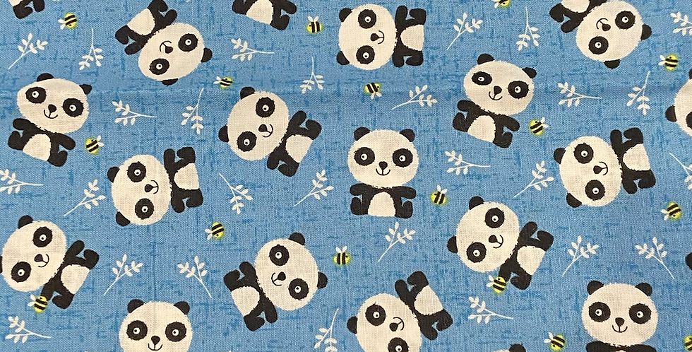 Pandas and Bees Bar Cover