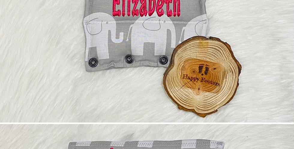 Elephants on Grey Bar Cover
