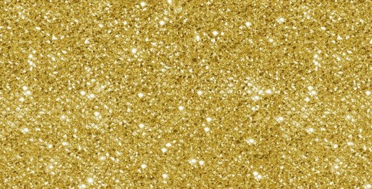 Xmas Gold Sparkles (Cotton) Bar Cover