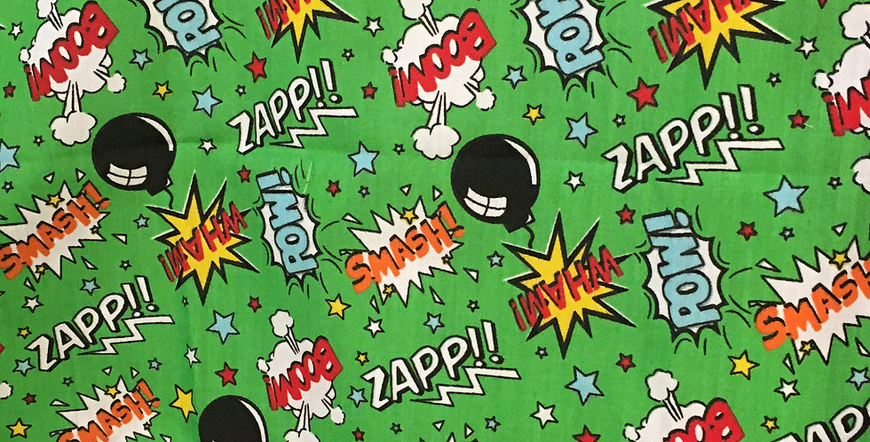 Smash Superhero on Green Bar Cover