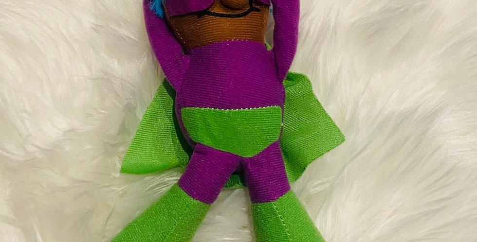 Plush Superhero - Purple cover