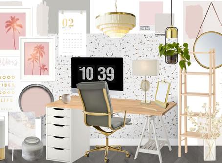 Home Office Inspiration for the #GirlBoss