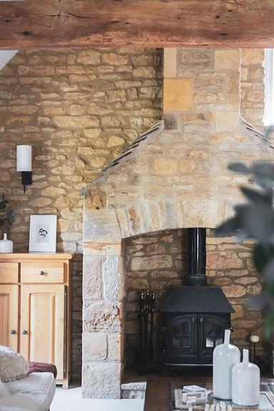 Honeypot Living Room Cotswolds