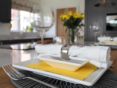 A Family Kitchen in Hampton-In-Arden