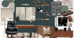 Home Office Inspiration: A Gentleman's Study