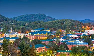 Boone, North Carolina, USA campus and to