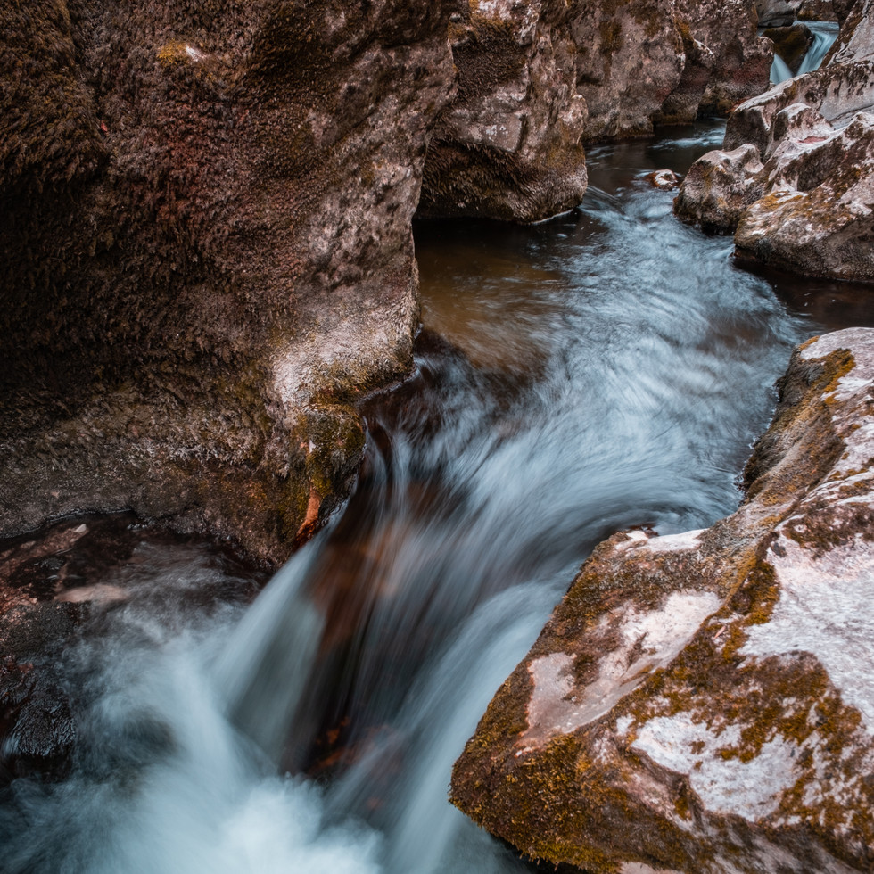 Rivière les Marmites