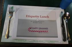 西餐禮儀 Etiquette Lunch