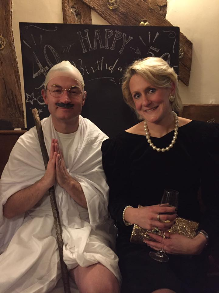 Ghandi & Lady Di