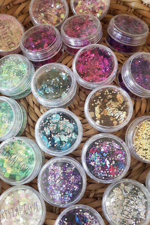 Festival Glitter Pots