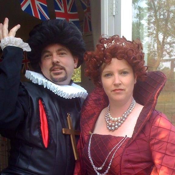 Blackadder & Queenie