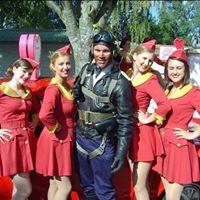 Pilot & Flight Attendants Goodwood