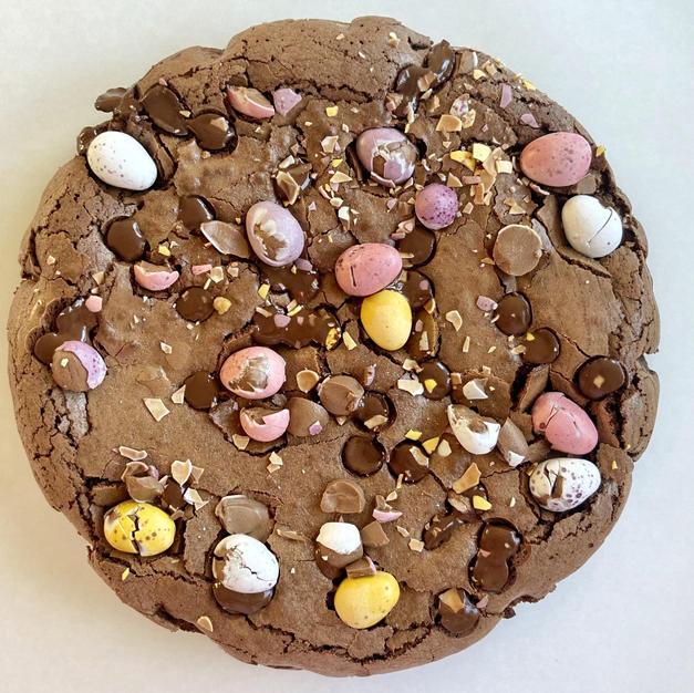 Mini Egg Brownie