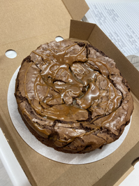 salted brownie