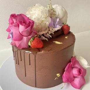 Chocolate Edith with Drips