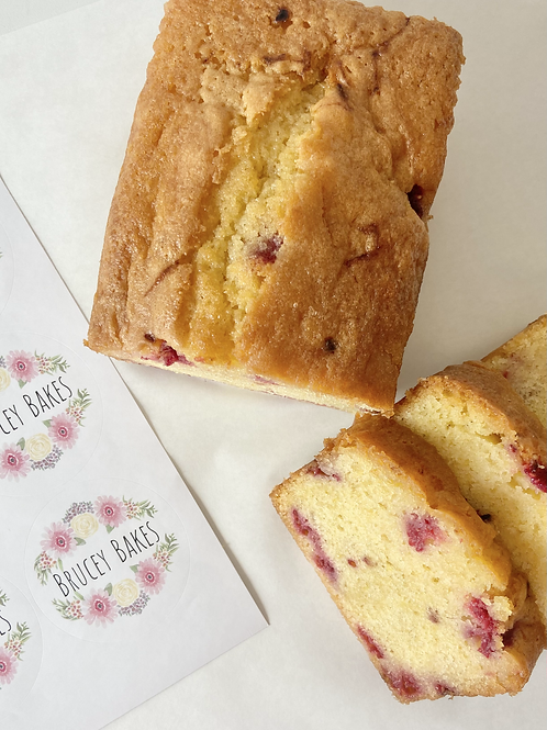 Lemon and Raspberry Drizzle Loaf