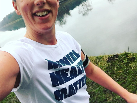 How running has helped my mental health and my plans for raising money for Mind.org in May.