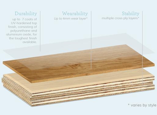 Engineered Hardwood Floors: 101