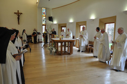 Celebration of Mass at Thicket
