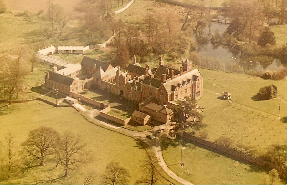 Thicket Priory Aerial View c.1970