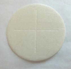 White sealed edge priests bread