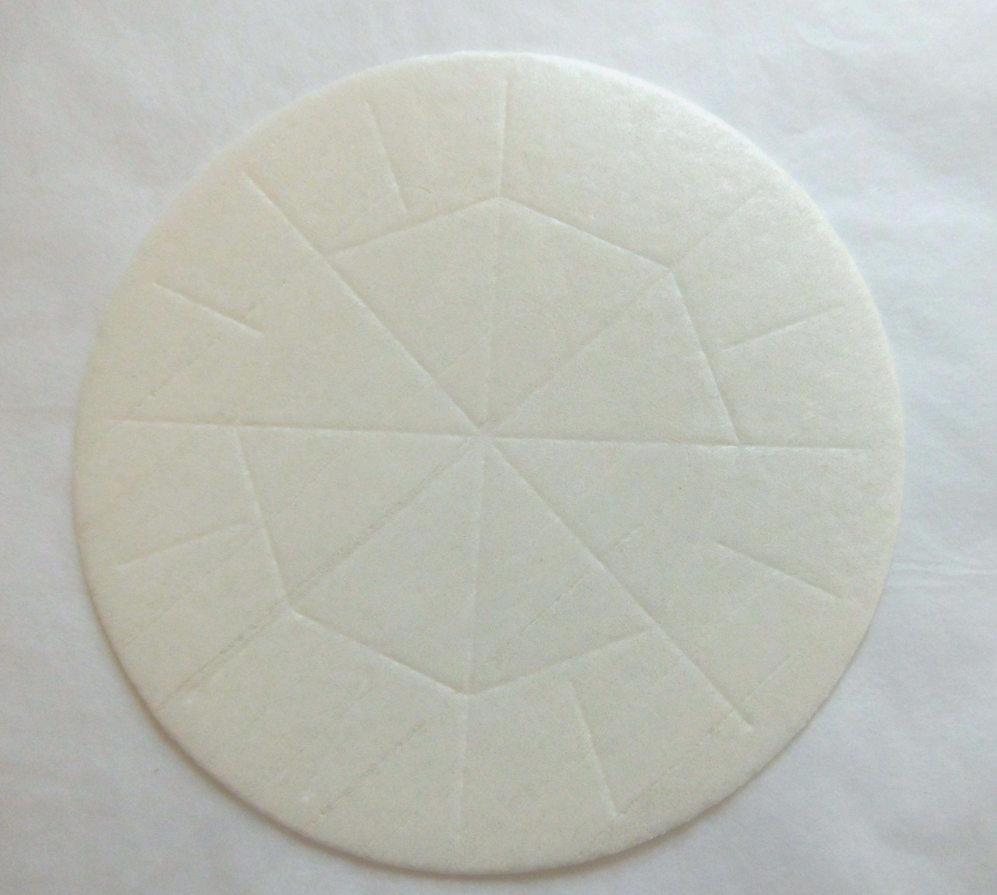 White concelebration bread