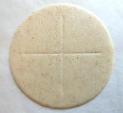 Brown sealed edge priests bread