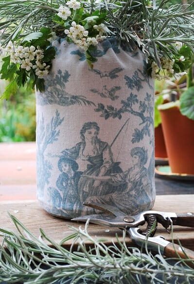 Drawstring Jar Cover