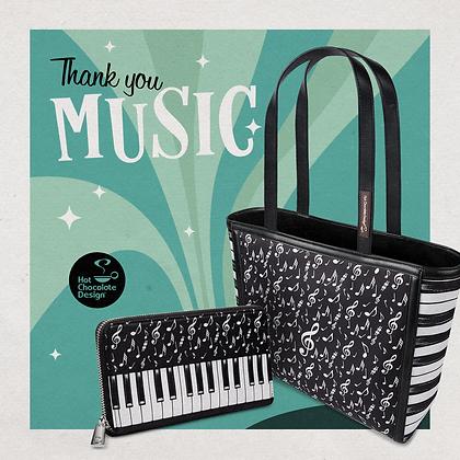 Thank You Music Tote Bag