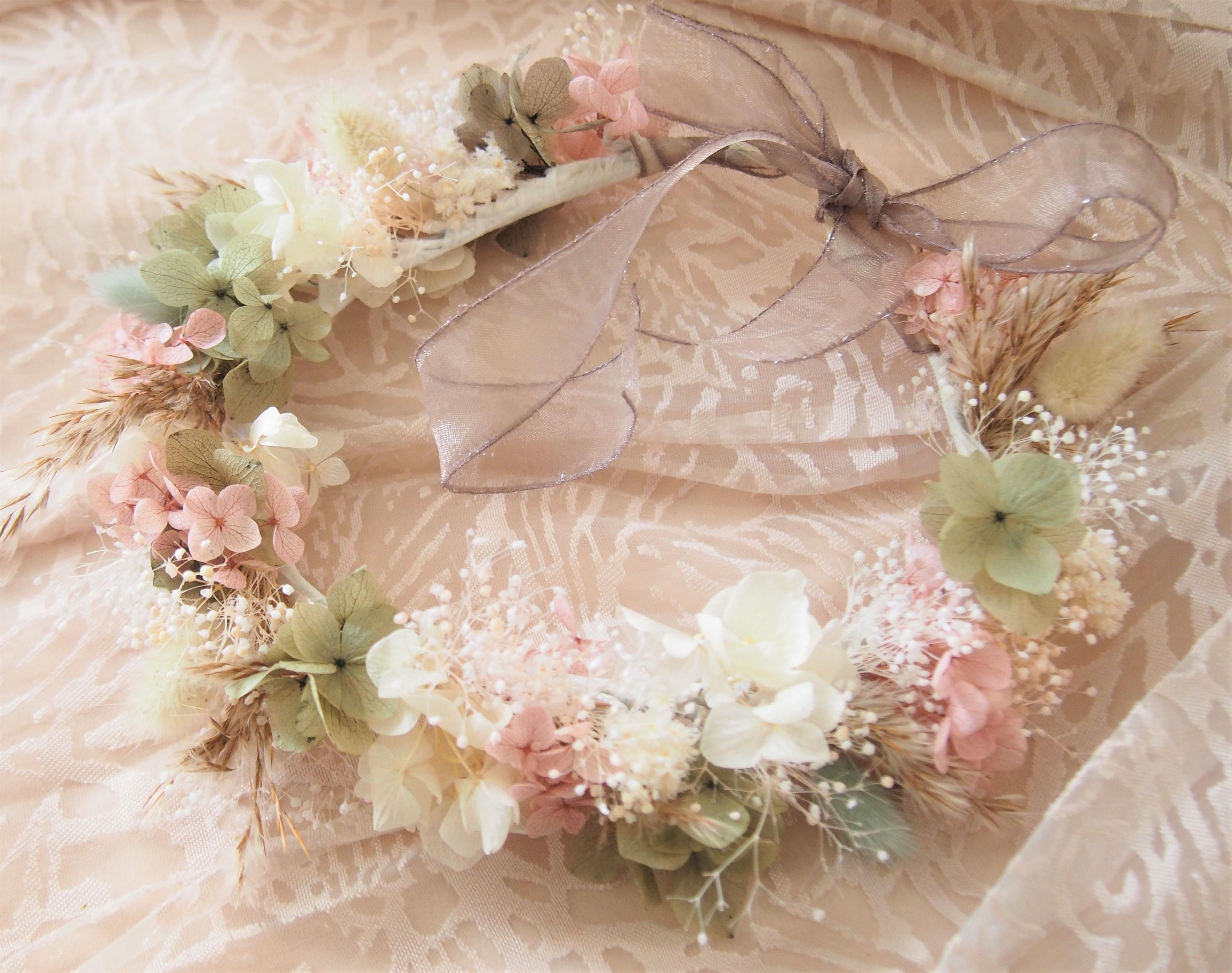 wedding♡baby 花冠