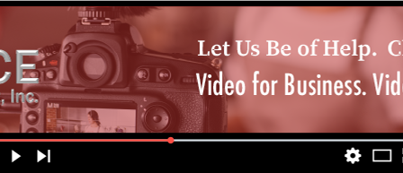 Marketing your business - Video has a purpose
