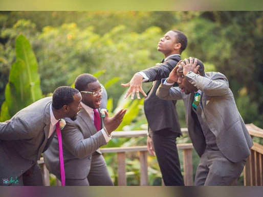 Men where rings too!!! Weddings By Peace Entertainment, Inc. for your wedding day!