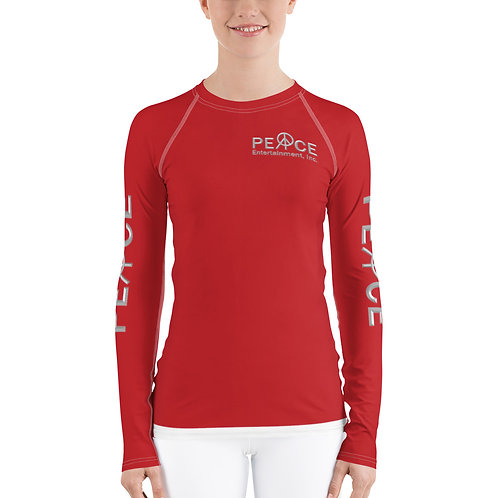 Peace Of Mind Company Movement All-Over Print Women's Rash Guard
