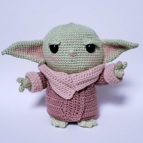 Baby Yoda - Amigurumi (sob encomenda - verifique o prazo!)