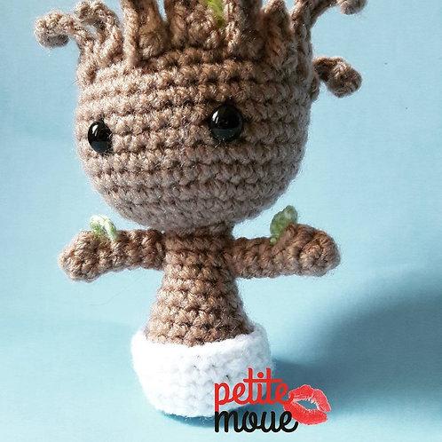 Baby Groot - Amigurumi (sob encomenda - verifique o prazo!)